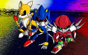 Team Metal Sonic by Metalic-Chaos