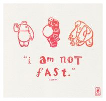 I am not fast. by SusannH