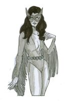 Alphababes Owlwoman by jdstanford