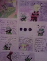 Invader Zim: Hi-Skool CH.1 PG.1 Comic by Cutediepie