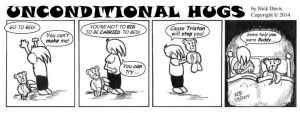 Unconditional Hugs 035 Comic - Go To Bed by altworld