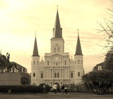 New Orleans, Jackson Square by tobilou