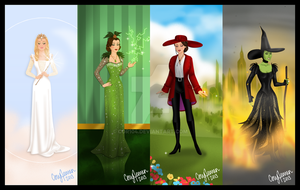 The Witches of Oz the Great and Powerful by Cor104
