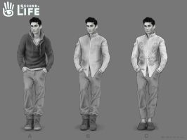 Indian male- Second Life- Linden Lab by Hamilton74