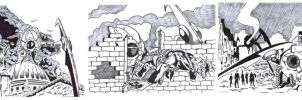 War of the Worlds sketch cards 3 by Bowthorpe