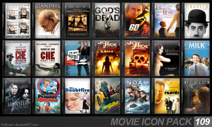 Movie Icon Pack 109 by FirstLine1