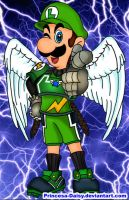 Luigi is the thunder by Princesa-Daisy