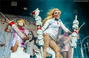Maria Brink, In This Moment - Carnival of Madness by lizzys-photos