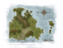 Map Commission Sample - Style 2 Basic by PhaeOBrien