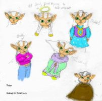 DBZ: Raiga, Child Character by ToonQueen