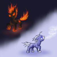 Fire and Ice by The-Laughing-Horror