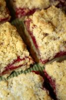 Raspberry Crumble Bars by claremanson