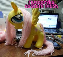 Chibi-ishFluttershy_Plush by anotherclichejrocker