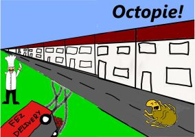 Octopie front cover by Nyeep