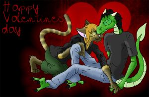 Happy Valentines Day by kungfudemoness