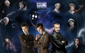 One Man. Eleven Faces. by The-13th-Doctor
