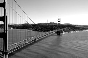 Golden Gate Bridge by Prain