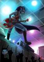Marceline The Rock Queen by Fuzzypottery