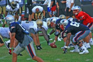 At The Line Of Scrimmage by padawan71