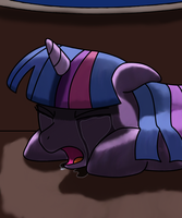 Profoundly sad twilight by Twilightspark1e