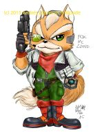 Fox McCloud color 01 by Vladsnake