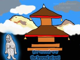 The legend of yeti by sumangal16