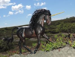 _Black Unicorn_ by Ethereal-Beings