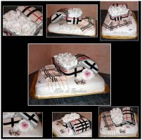 Fashion cake Burberry style by Dyda81