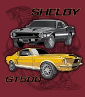 Mustang-Shelby-GT500 by stlcrazy