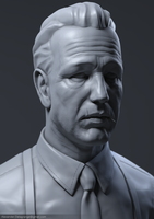 Humphrey Bogart High Poly by LexTripper