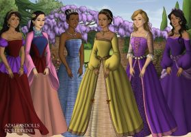 Disney Princesses 2 by jjulie98