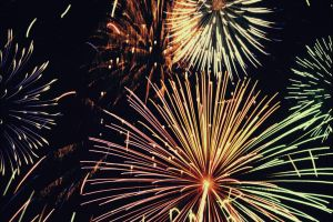 Combining Light: Fireworks by Vicarious-Trances