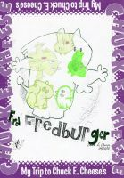 Fred Fredburger in Chuck E. Cheese Photo Booth by wintercool612