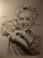 Marilyns smile by MrEyeCandy66