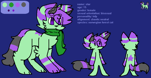 star's ref sheet by DalmationCat