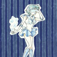 Decorative Paper - Sailor Mercury by KrisRix