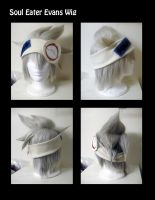 Soul Eater Evans Wig by xYaminogamex