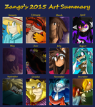 2015 Art Summary by ShinyZango