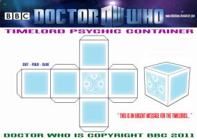 Timelord Psychic Container by mikedaws