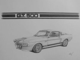 Ford Mustang GT500 Eleanor by chadvstudio
