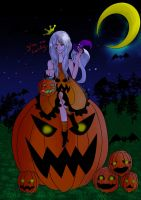 Halloween with Midnite by MiyuuHime