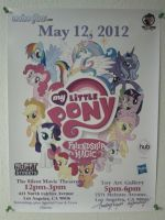 My Little Pony Project 2012 Poster by Closer-To-The-Sun