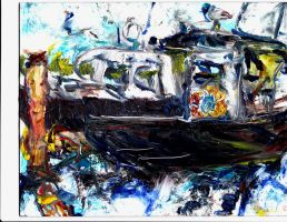 Maine Lobster Boats  LPRoctor by LaurieLefebvre