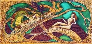 Celtic painting by Obman-Veschestv