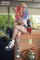 Suicide Squad Harley by lilmonstercosplay