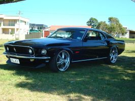 1969 Ford Mustang Mach 1 by ThexRealxBanks