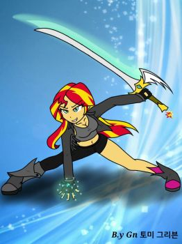 Sunset Shimmer by ajrrhvk12