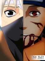 Obito and Kakashi:Don't forget me. by RobCV