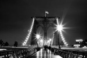 Brooklyn Bridge NY by psychodiagnostic