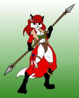 Fox Huntress by Skyhammer